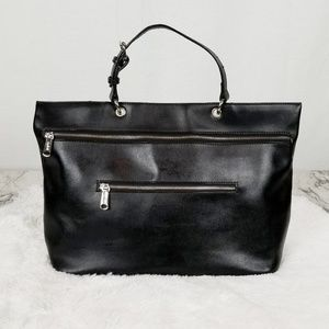 Black Co-lab leather purse
